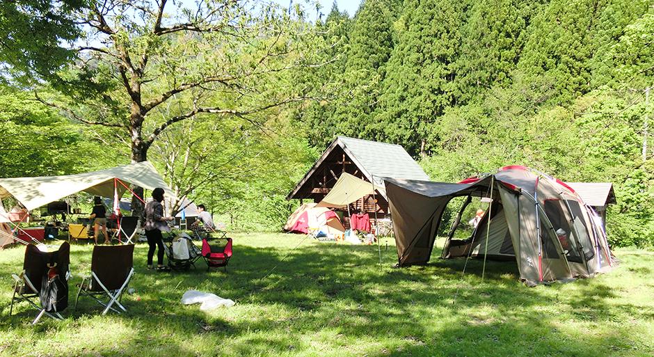 西俣キャンプ場 | 小松市の自然...